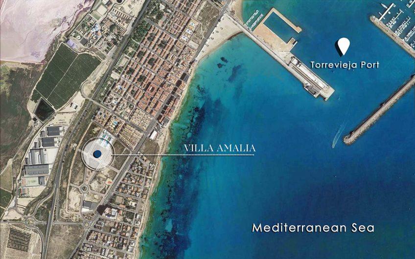 Unikt prosjekt ved hav og by. Moderne leiligheter og rekkehus
