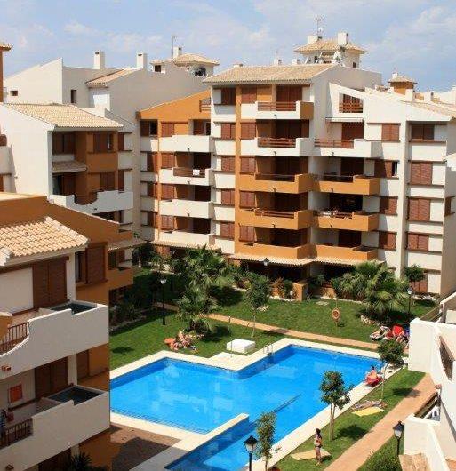 Fantastiske La Recoleta på Punta Prima. Flotte moderne leiligheter rett ved havet!