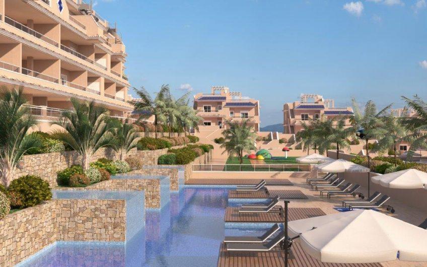 Vista Azul Exclusive. Spesialtilbud!  Eksklusive Penthouse med havutsikt på Punta Prima. 10 % rabatt og fullt møblert