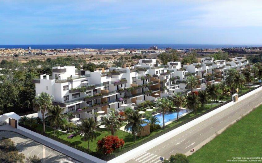 Luksuriøse leiligheter med store terrasser i Villamartin med gangavstand til Zenia Bouleward.