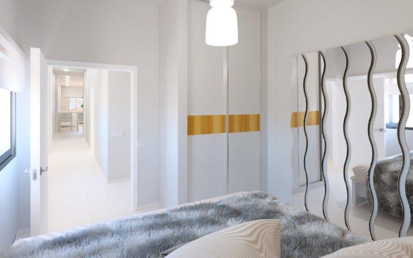 Moderne leiligheter i ny blokk i Torrevieja sentrum. 100 meter fra havet. Basseng på taket
