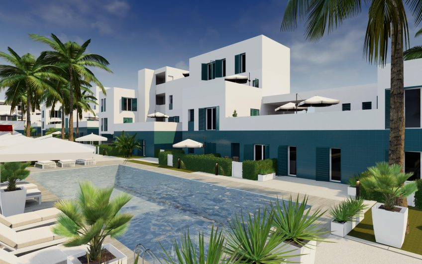 Turquesa del Mar, flotte leiligheter med store terrasser og havutsikt på Playa Flamenca.