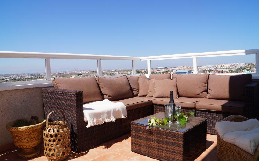 """""""SOLD""""Torrevieja. Fin penthouse med stor terrasse og nydelig utsikt"""