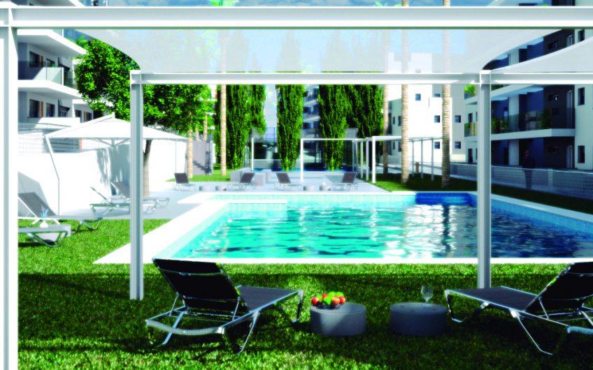 Villamartín. Flott prosjekt med elegante leiligheter som bygges nær golfbanen.