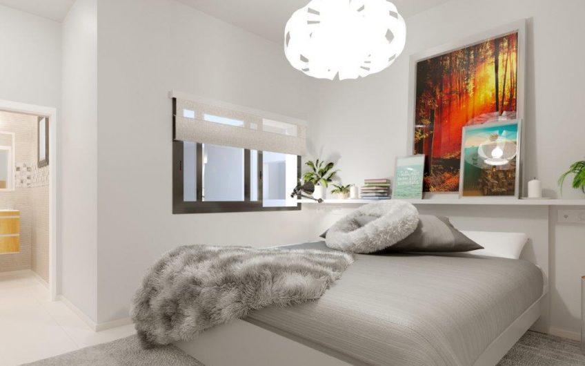 Torrevieja. Moderne leiligheter 70 meter fra strandpromenaden. Felles bassengområde og takterrasse.