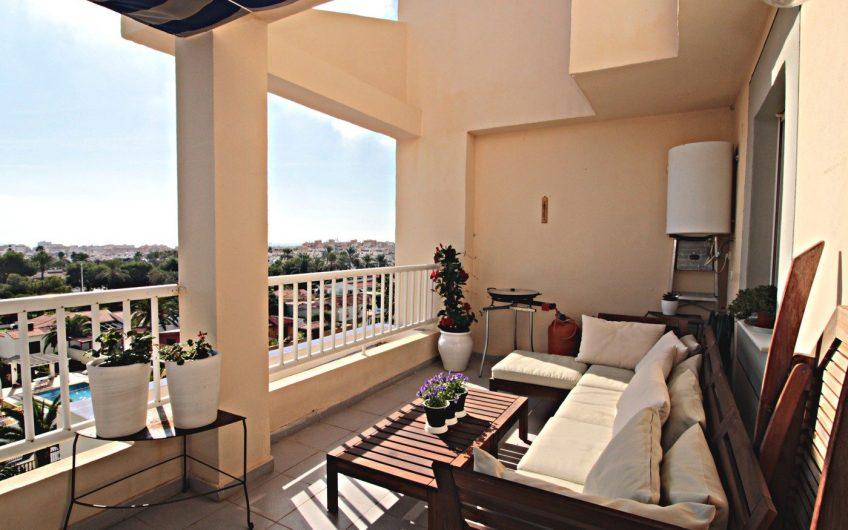 *SOLGT* Nueva Torrevieja. Moderne penthouse med havutsikt og felles bassengområde.