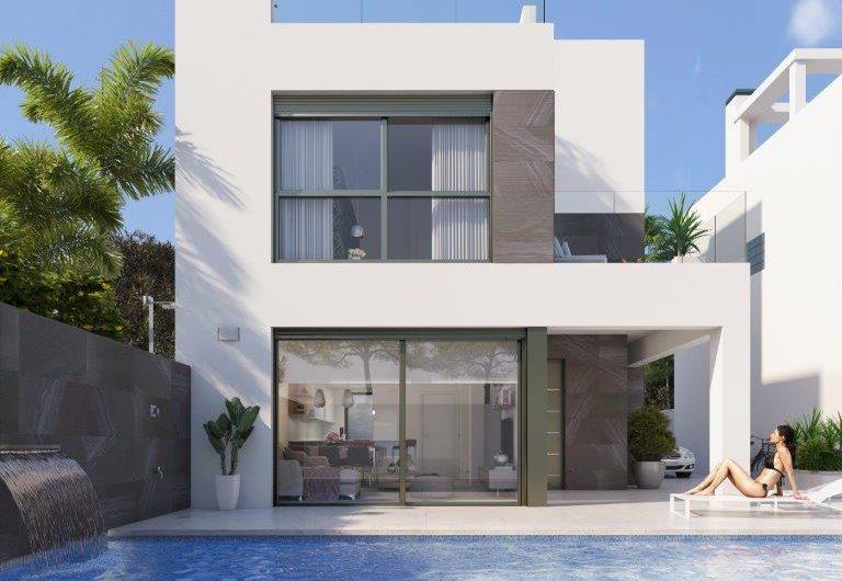 Nye attraktive Villaer med privat basseng og romslige uteplasser nære Middelhavet.