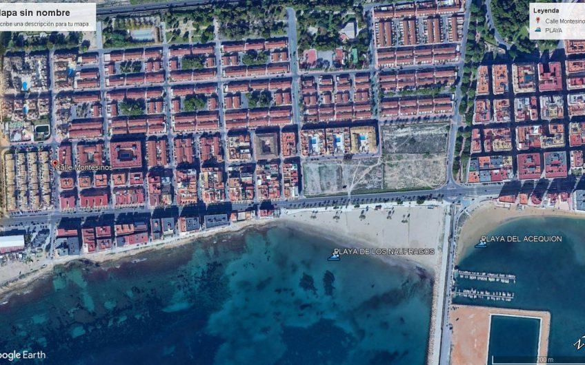 """""""RESERVERT""""Toppleilighet i lavblokk 150 meter fra Middelhavet."""