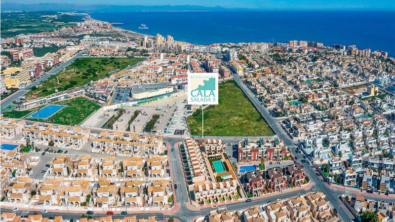 Suksessen fortsetter! Cala Salada II. Kanonfine boliger nære havet i Aguas Nuevas/ La Mata.
