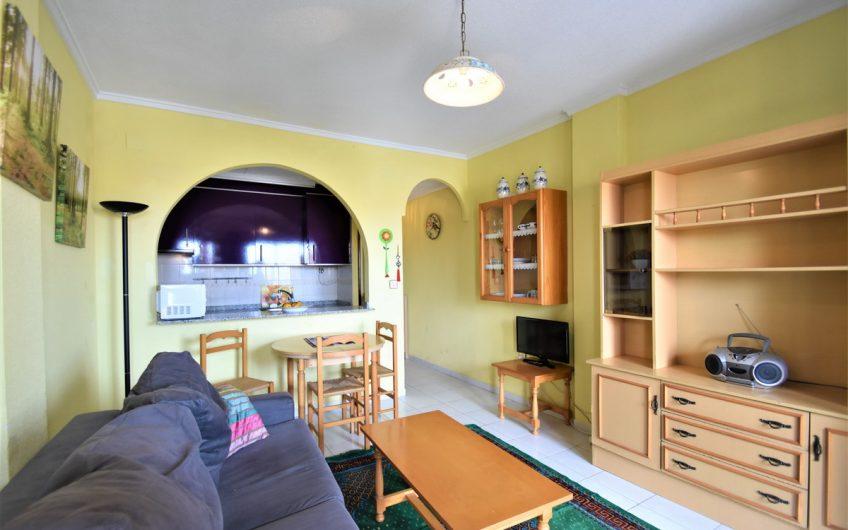 Koselig leilighet i Balcon de Torrevieja med havutsikt.